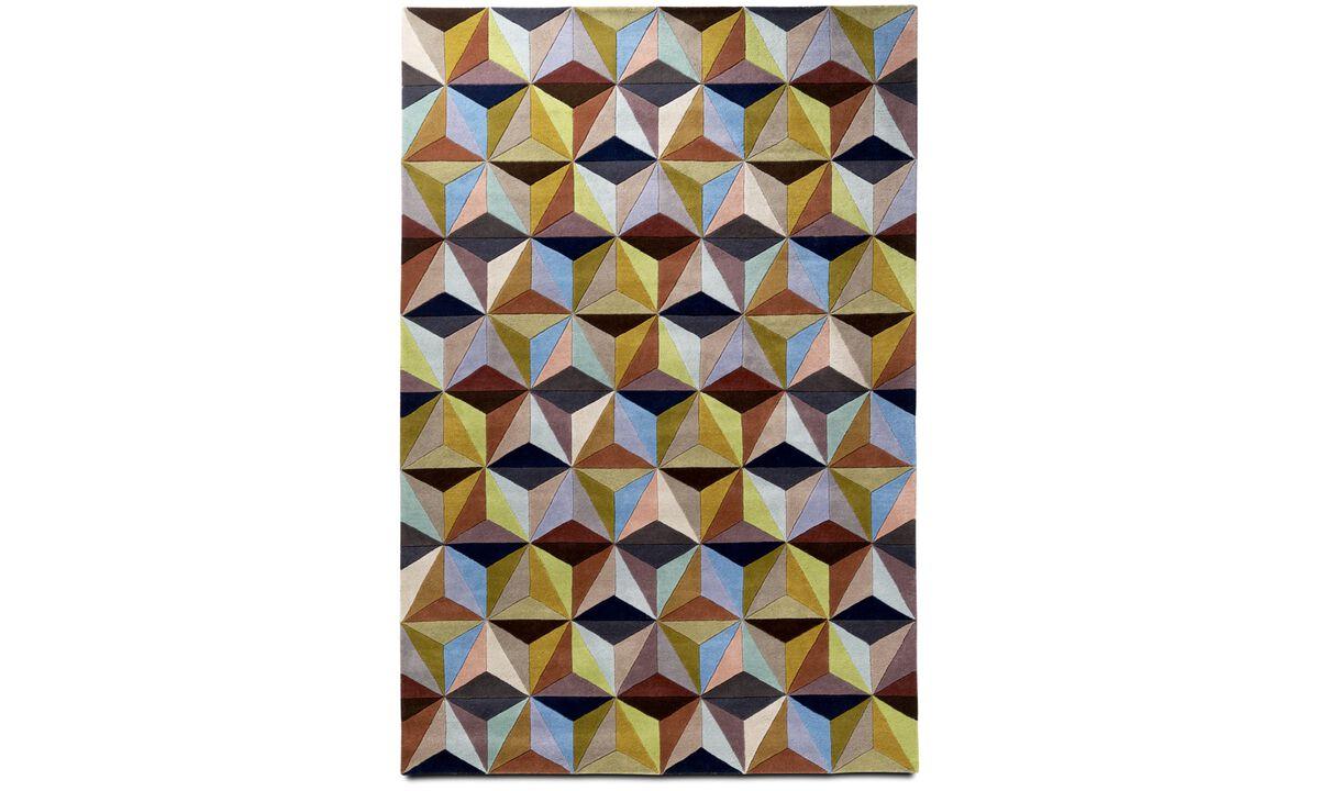 Karpetten - Cubic vloerkleed - rectangular - Veelkleurig - Stof