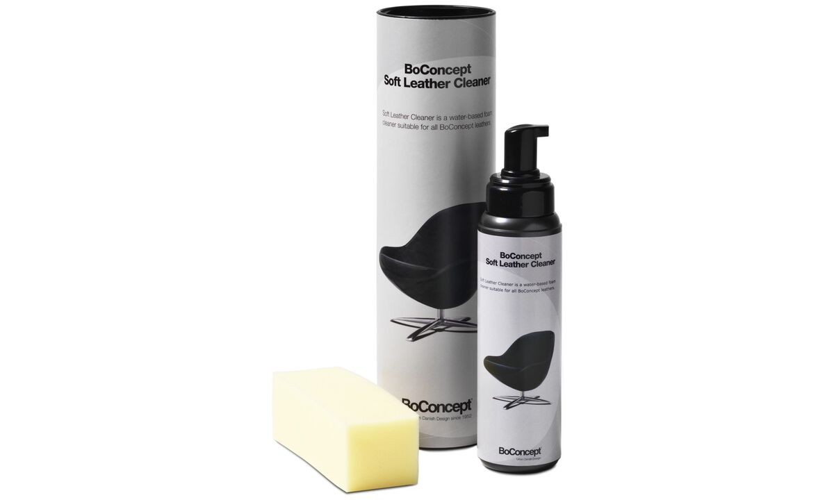 New designs - Leather cleaner 400 ml w/dispenser and sponge