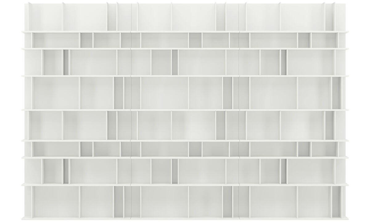 Sistemas de pared - Sistema de pared Como - Blanco - Laca