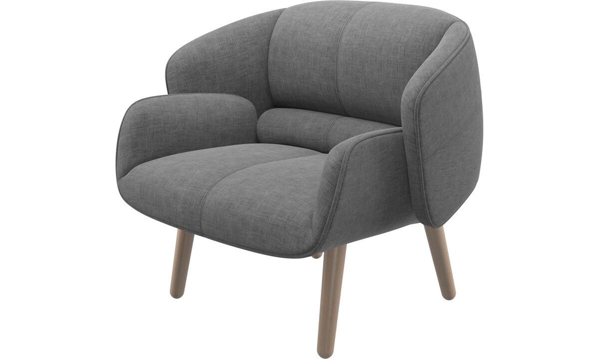 Fauteuils - fauteuil fusion - Gris - Tissu