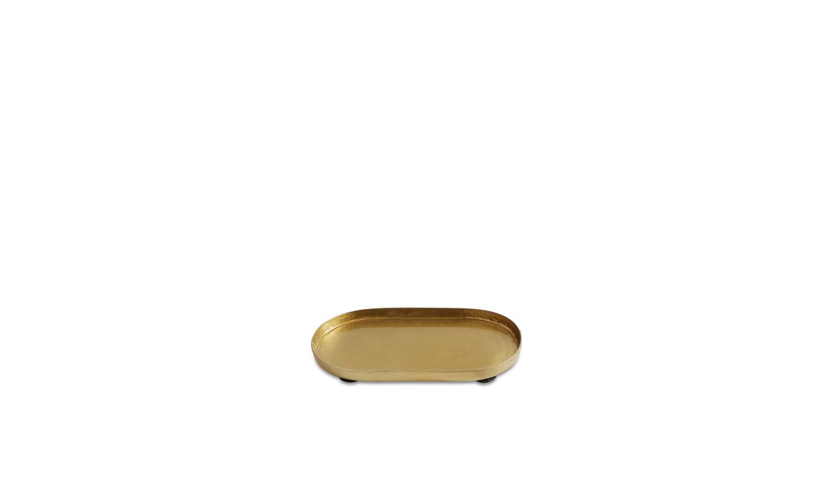 Small storage - Manhattan tray - Yellow - Metal