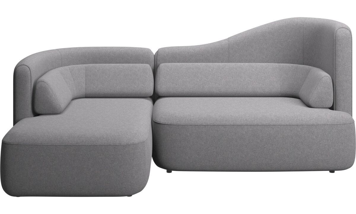 3 seater sofas - Ottawa sofa - Grey - Fabric