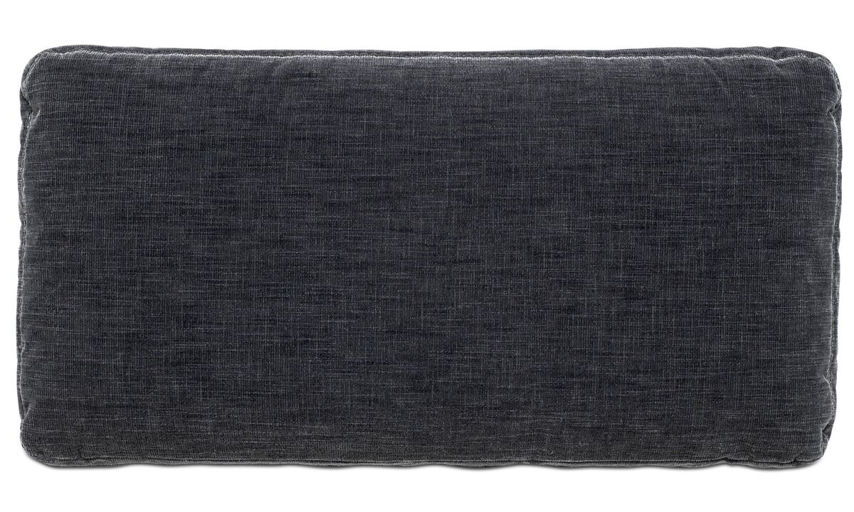 Sofa accessories - Hampton cushion - Grey - Fabric