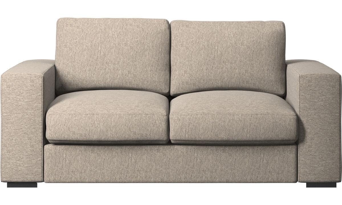Двухместные диваны - Диван Cenova - Бежевого цвета - Tкань