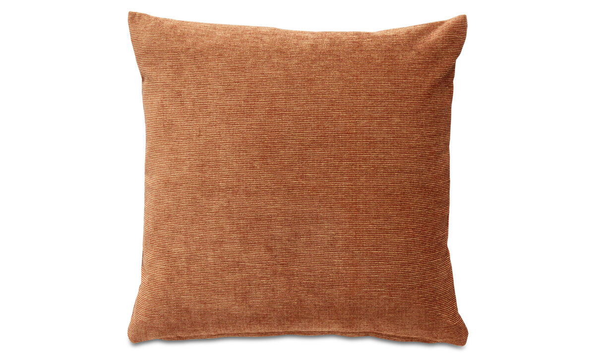 Cushions - Velvet rough cushion - Red - Fabric