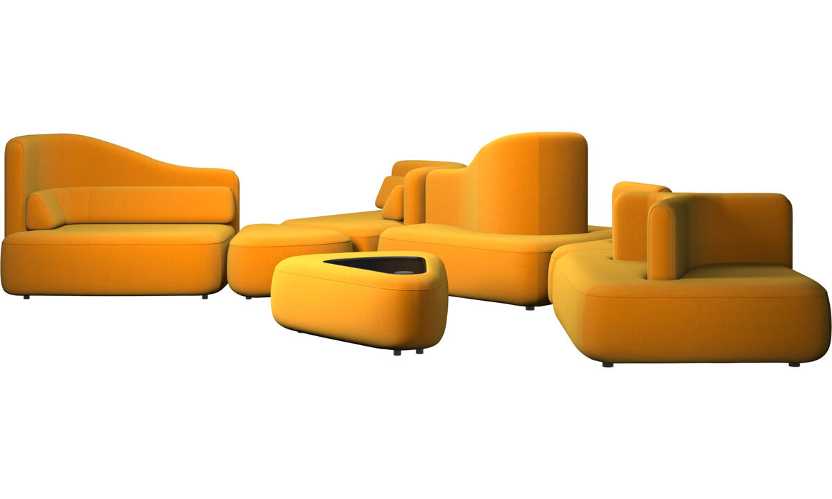 Modular sofas - Ottawa sofa - Orange - Fabric
