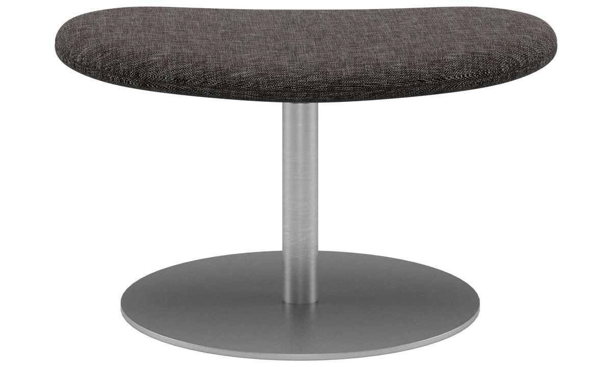 Footstools - Ogi footstool - Brown - Fabric