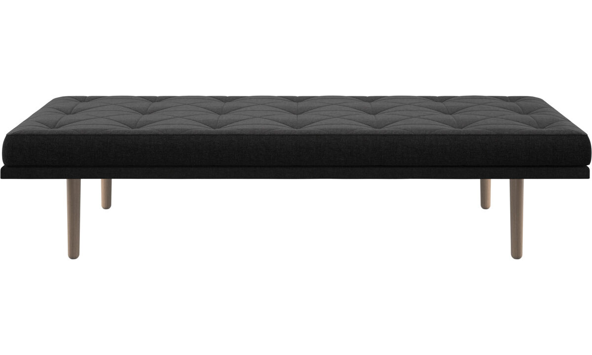 Heverők - fusion sezlon - Fekete - Huzat