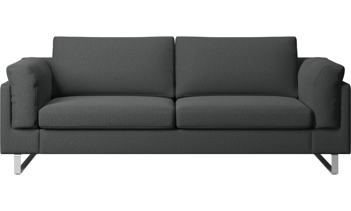 2.5 seater sofas - Indivi sofa - Grey - Fabric
