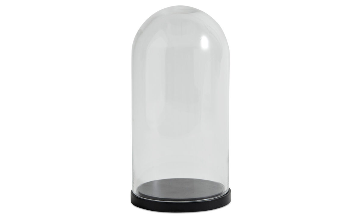 Decoration - Bell glass bell - Clear - Glass