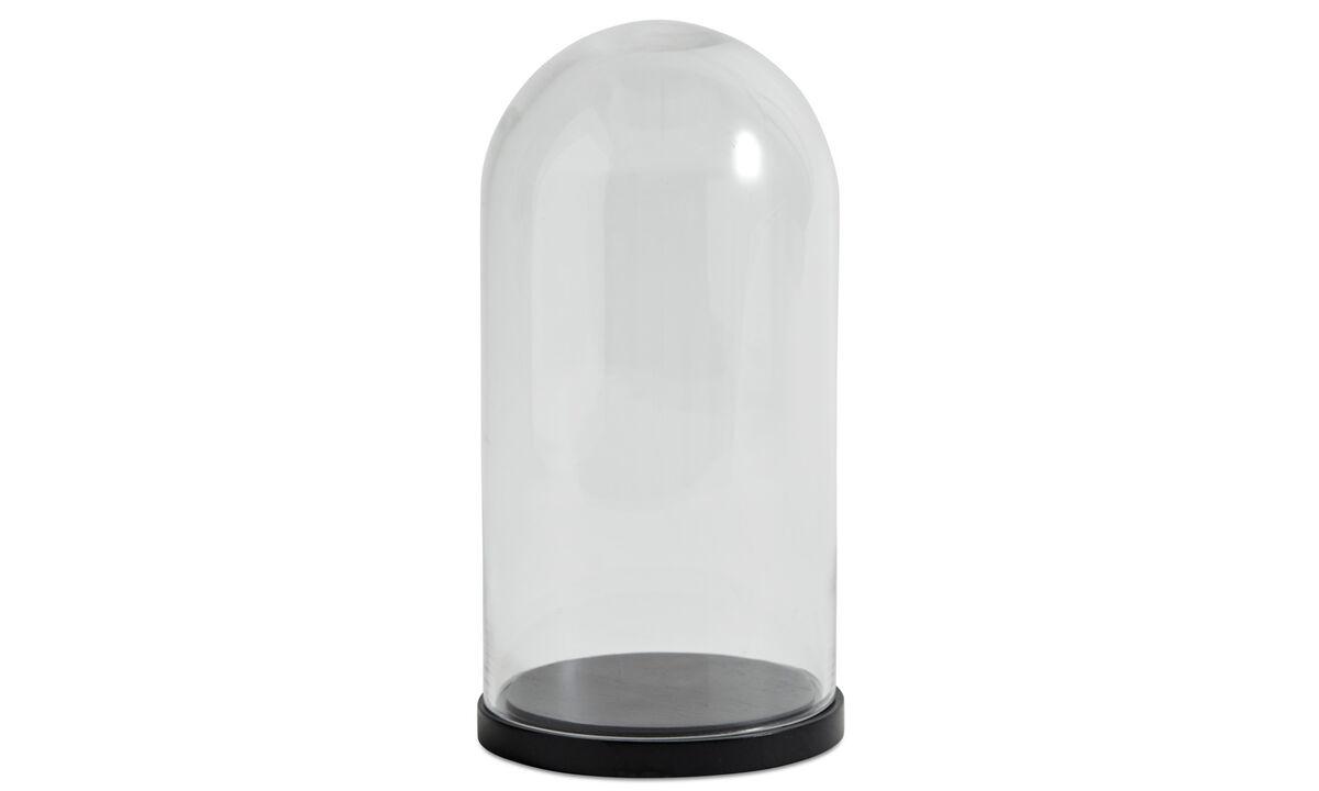 Διακόσμηση - γυάλινο κουδούνι Bell - Διαφανές - Γυαλί