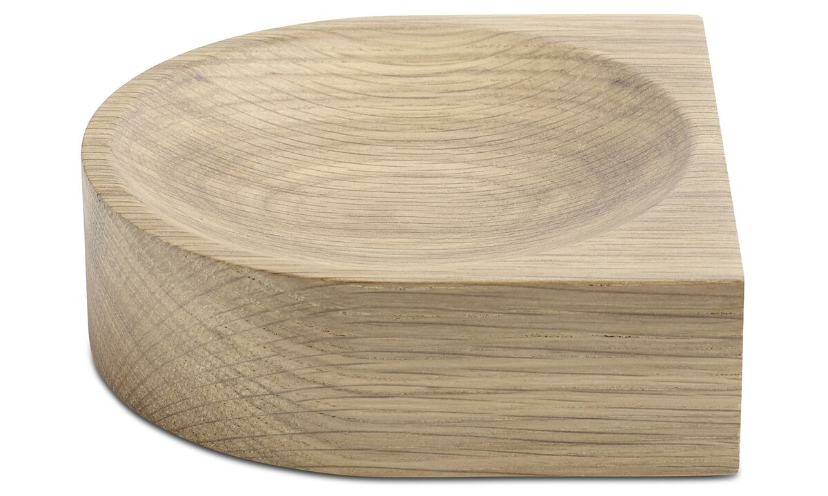 Decoration - Living dish - Brown - Oak