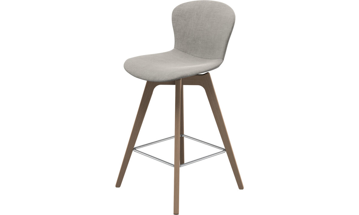 Bar stools - Adelaide barstool - Grey - Fabric