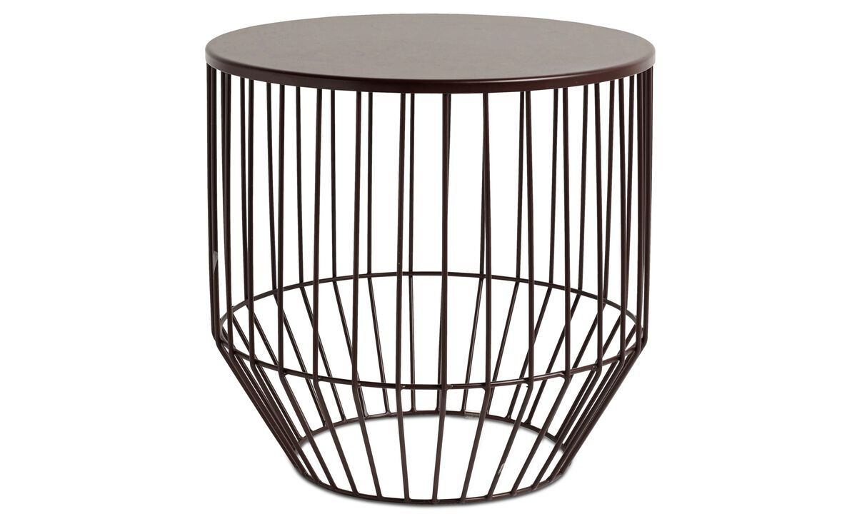 New designs - Wire stool - Red - Metal