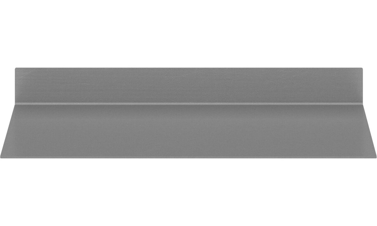 Bookcases & shelves - Como shelf - Grey - Metal
