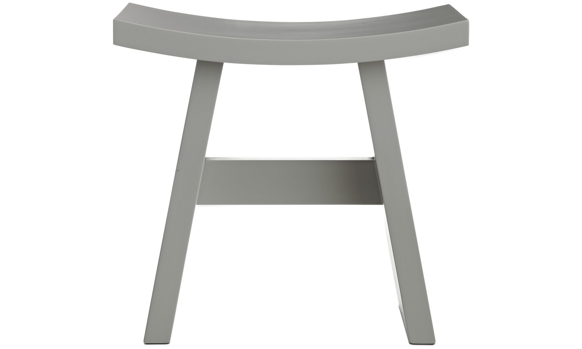 Stools   Shogun Stool   Gray   Wood