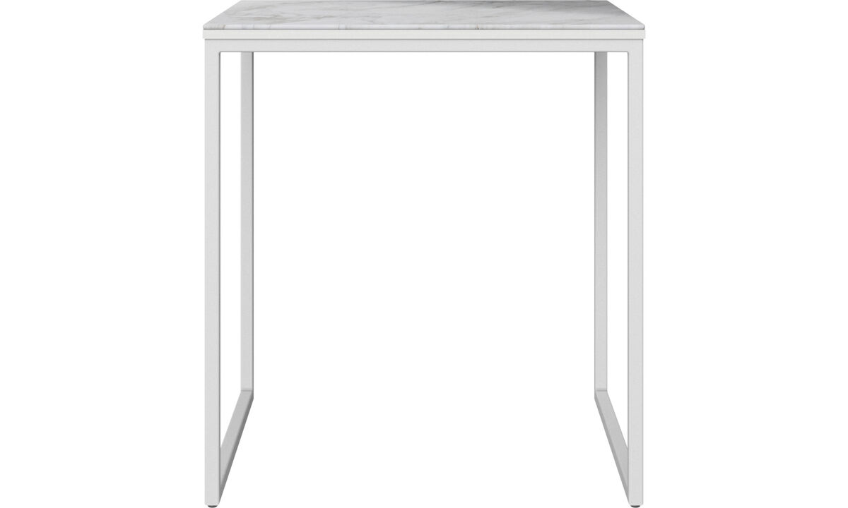 Side tables - Lugo coffee table - square - White - Oak