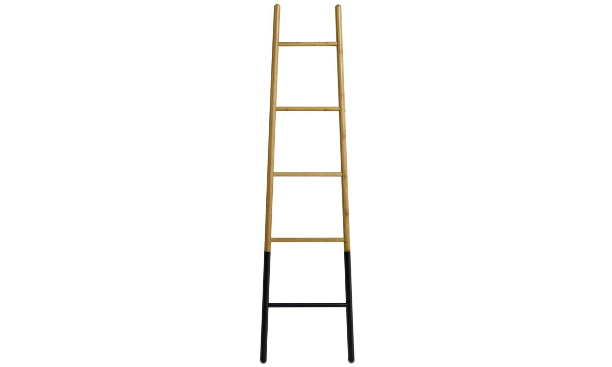 Seinäkoristeet - Ladder-tikkaat - Ruskea - Wood