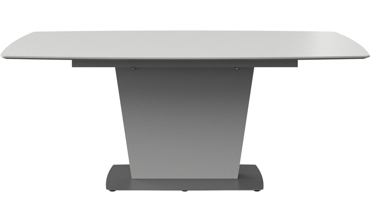 Dining tables - Milano table - rectangular - White - Lacquered