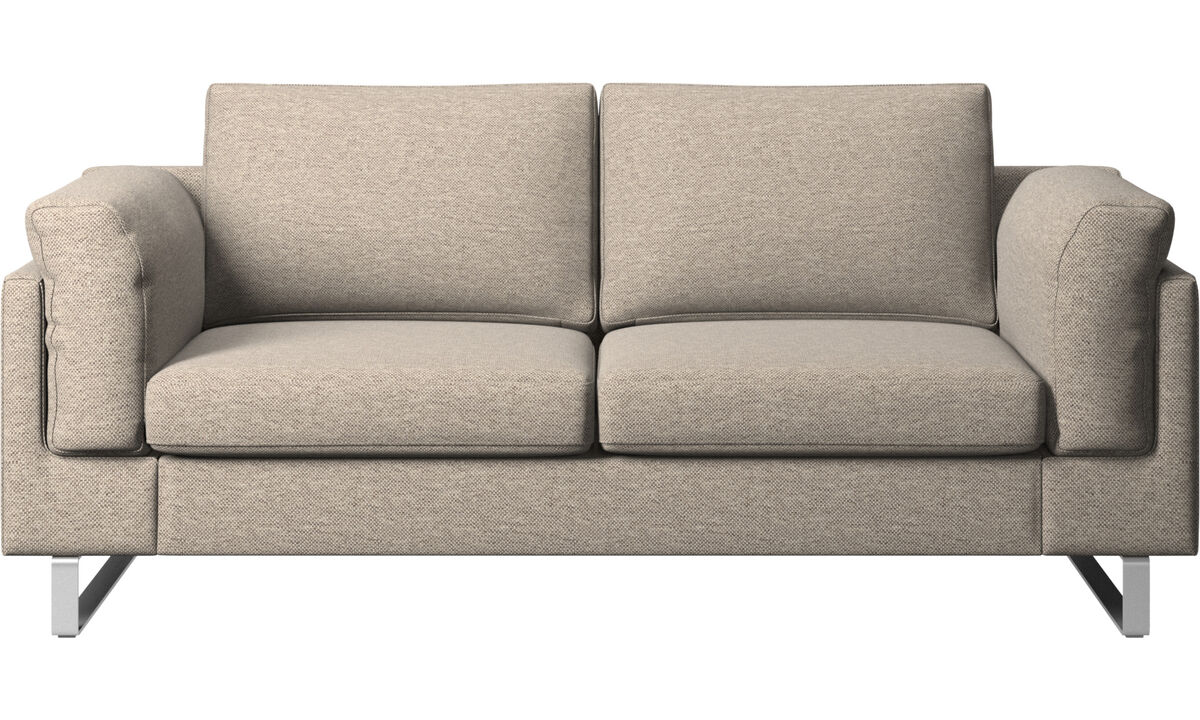 Двухместные диваны - Диван Indivi - Бежевого цвета - Tкань
