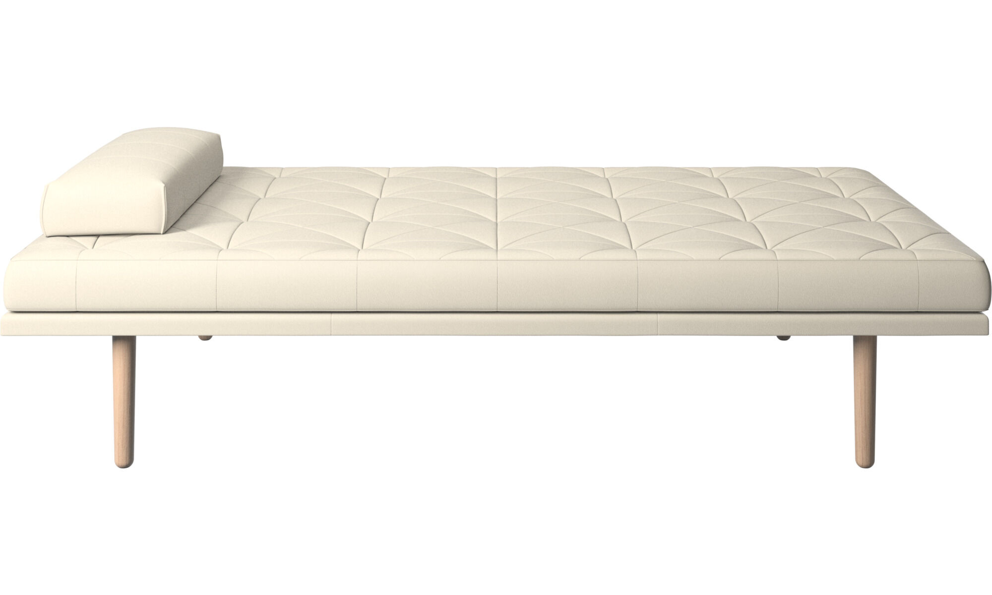 Daybeds   Fusion Day Bed   White   Leather