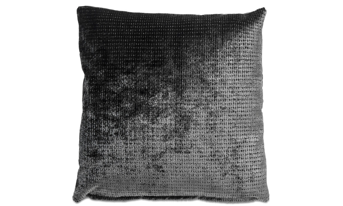 Patterned cushions - Cuscino Luxury - Grigio - Tessuto