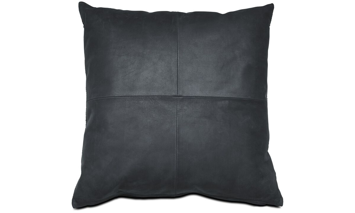 Leather cushions - Leather cushion - Fabric