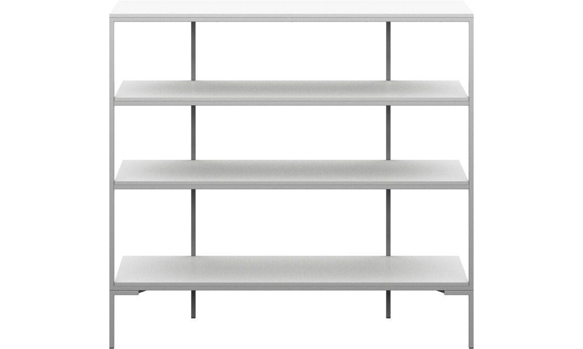 Wall systems - Bordeaux wall system - White - Lacquered