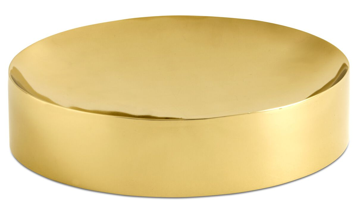 Bowls & dishes - Living dish - Yellow - Metal