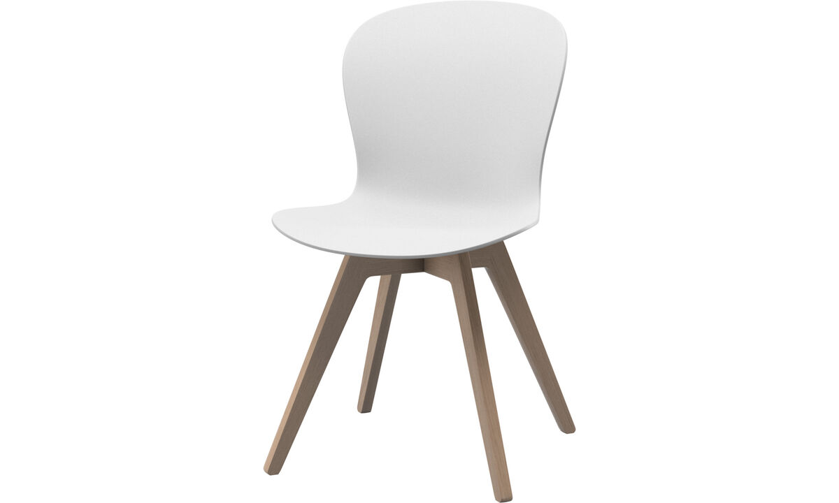 Dining Chairs Singapore - Adelaide chair - White - Oak
