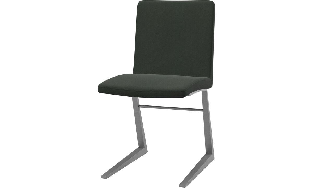 Sillas de comedor - silla Mariposa Deluxe - En verde - Tela