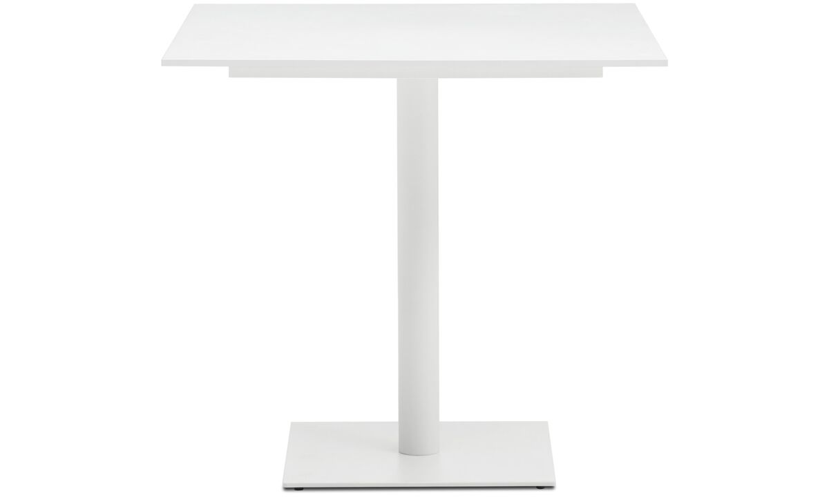 Dining tables - Torino table - square - White - Lacquered