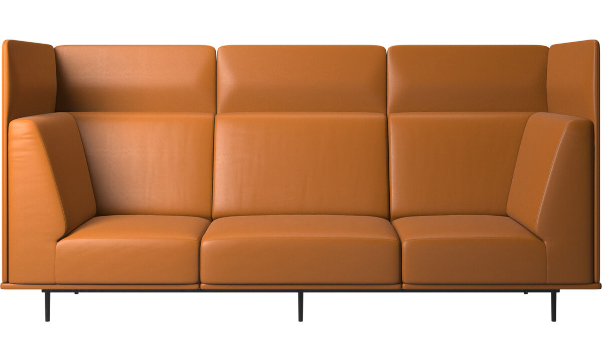 Modular sofas - Toulouse sofa - Brown - Leather