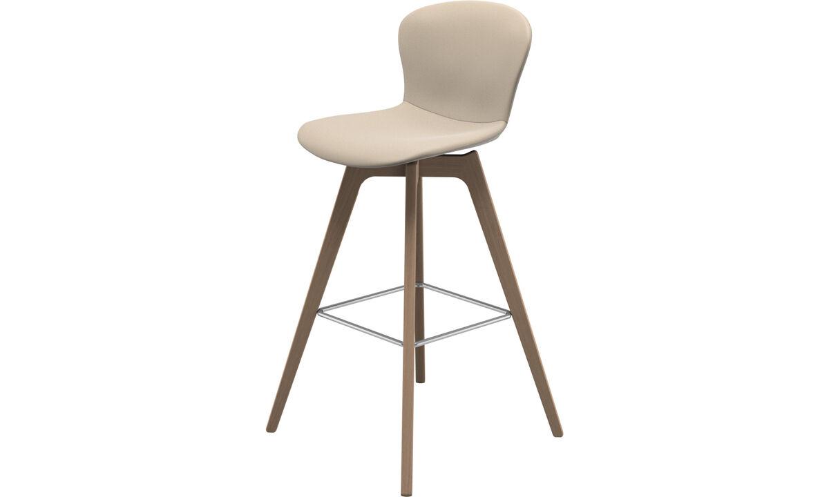 Bar stools - Adelaide barstool - Beige - Leather