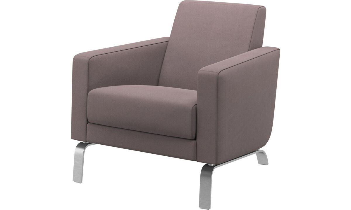 Armchairs - Fly chair - Purple - Fabric