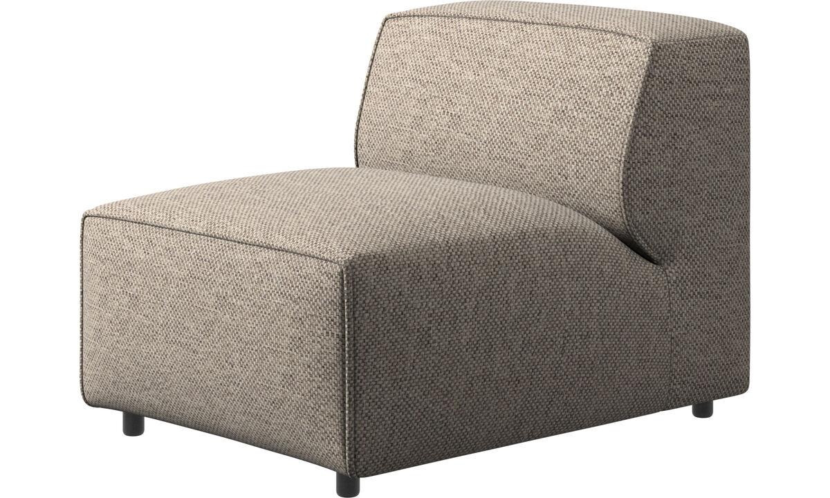 Modulære sofaer - Carmo stol/grundmodul - Beige - Stof