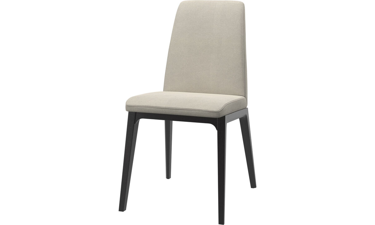 Dining chairs - Lausanne chair - White - Fabric