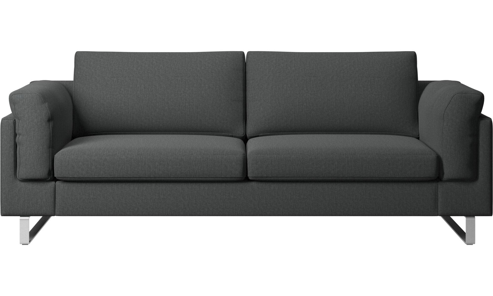 2.5 Seater Sofas   Indivi 2 Sofa   Gray   Fabric