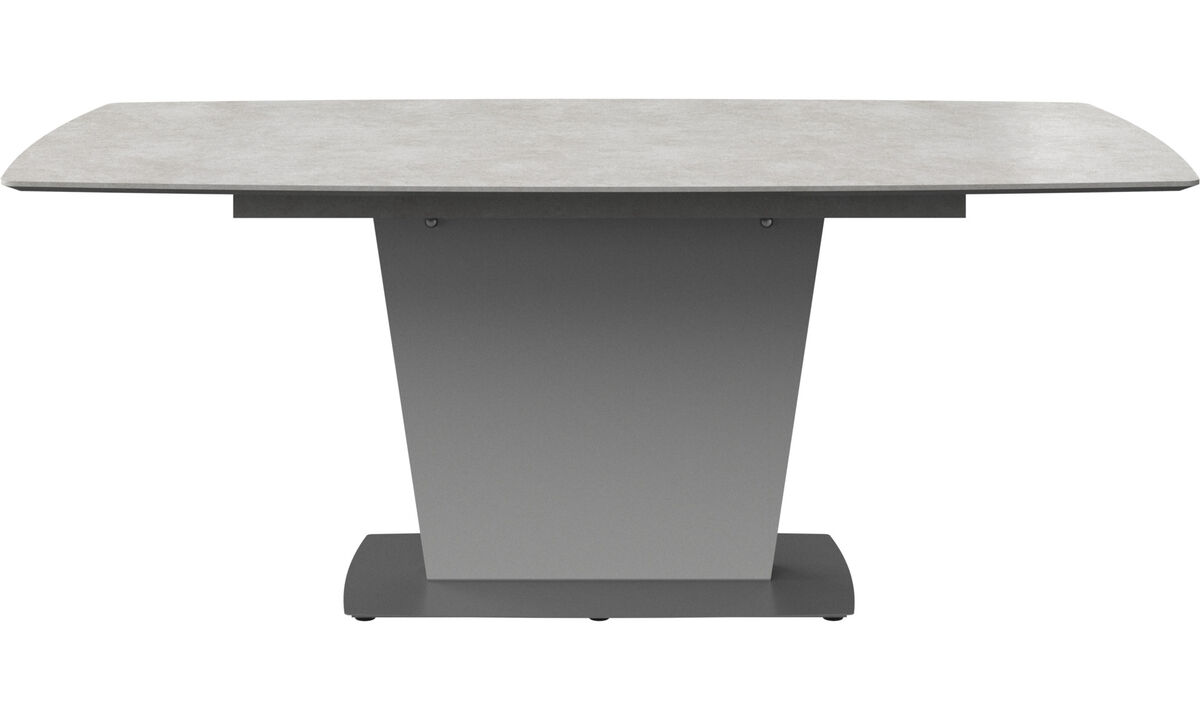 Dining tables - Milano table - rectangular - Grey - Ceramic