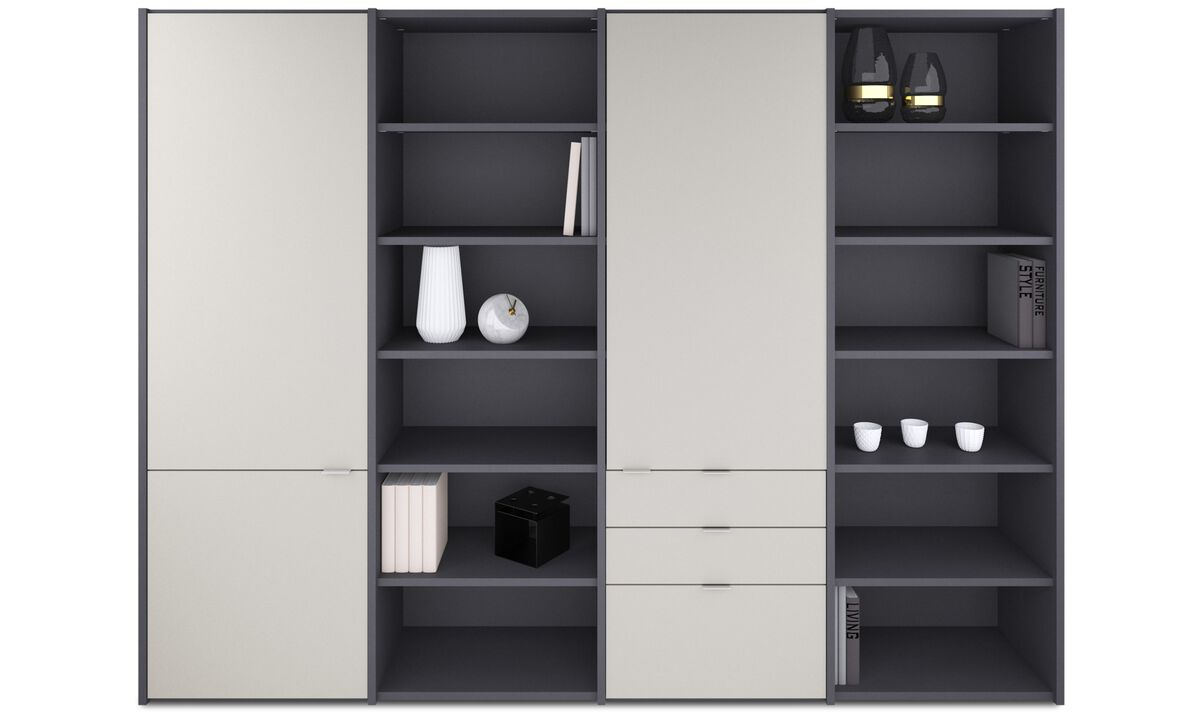 Wall Units - Copenhagen wall system - Grey