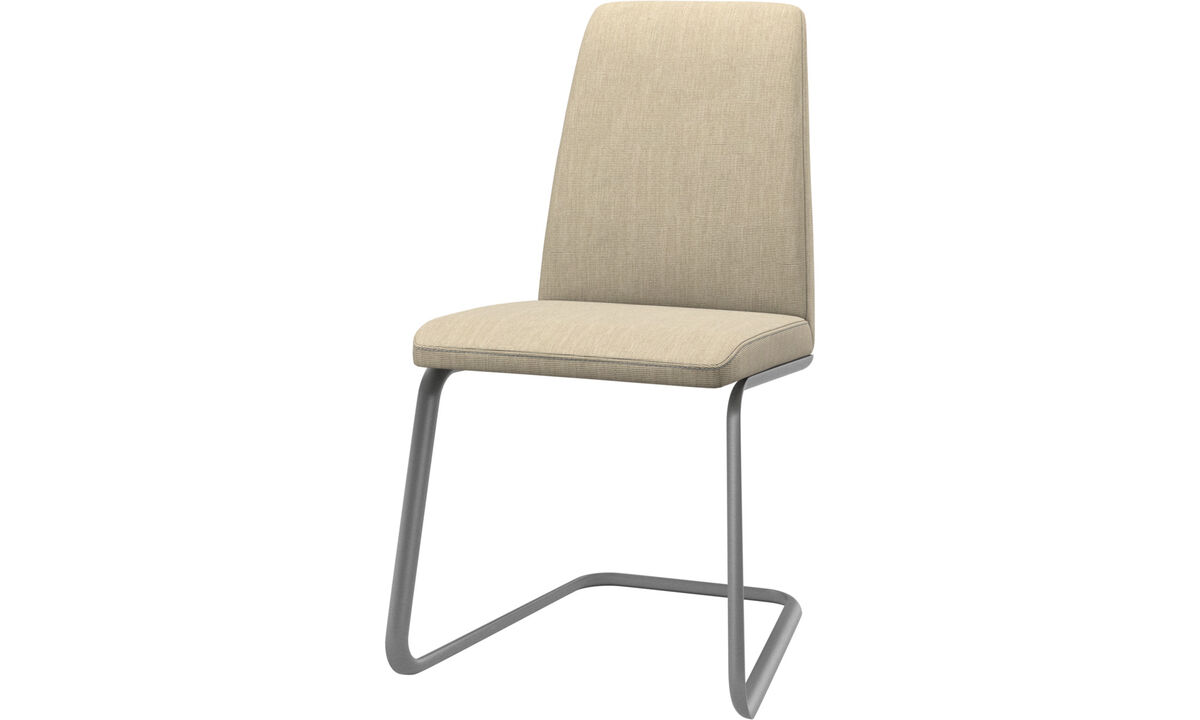Dining Chairs Singapore - Lausanne chair - Brown - Fabric