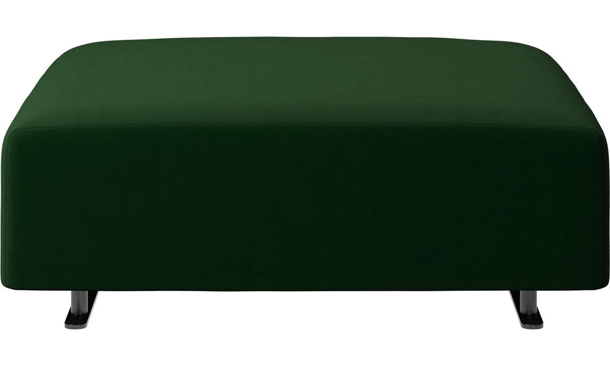 Пуфики - Пуф 'Hampton' - Зеленый - Tкань