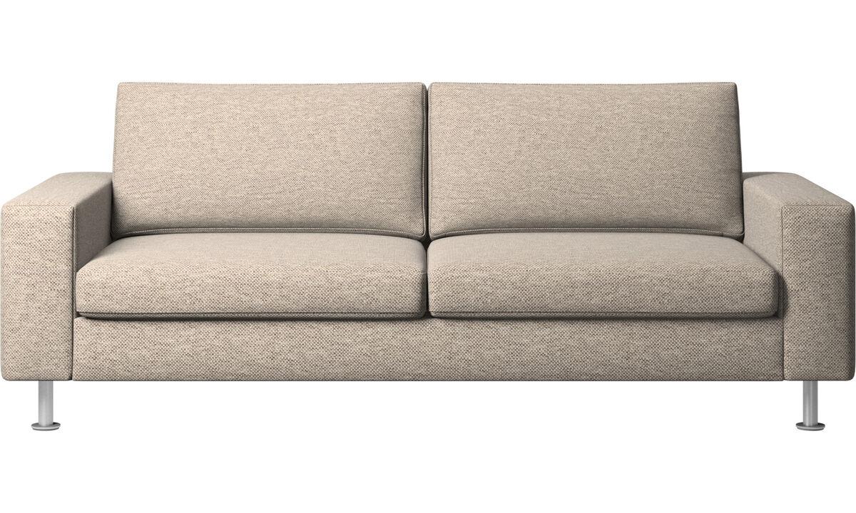 Sofa beds - Indivi divano letto - Beige - Tessuto
