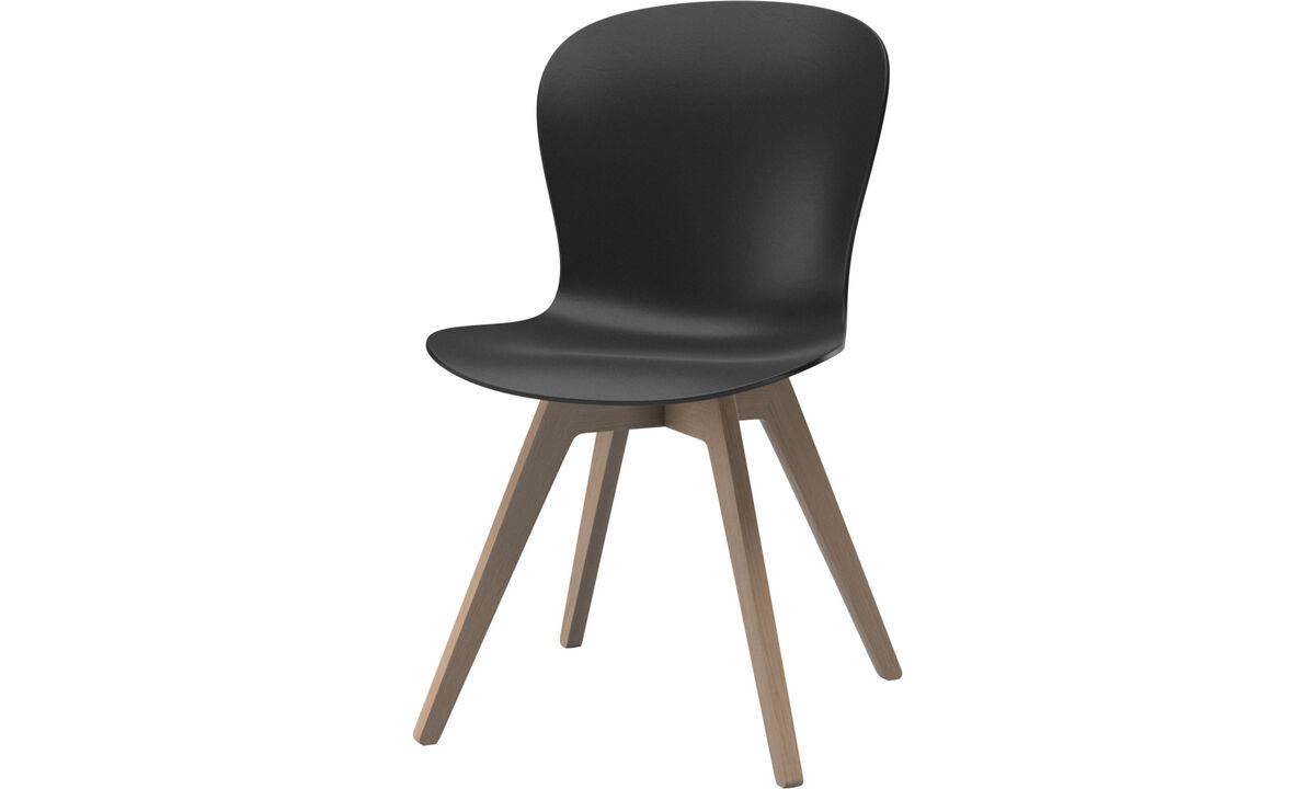 Dining Chairs Singapore - Adelaide chair - Black - Oak