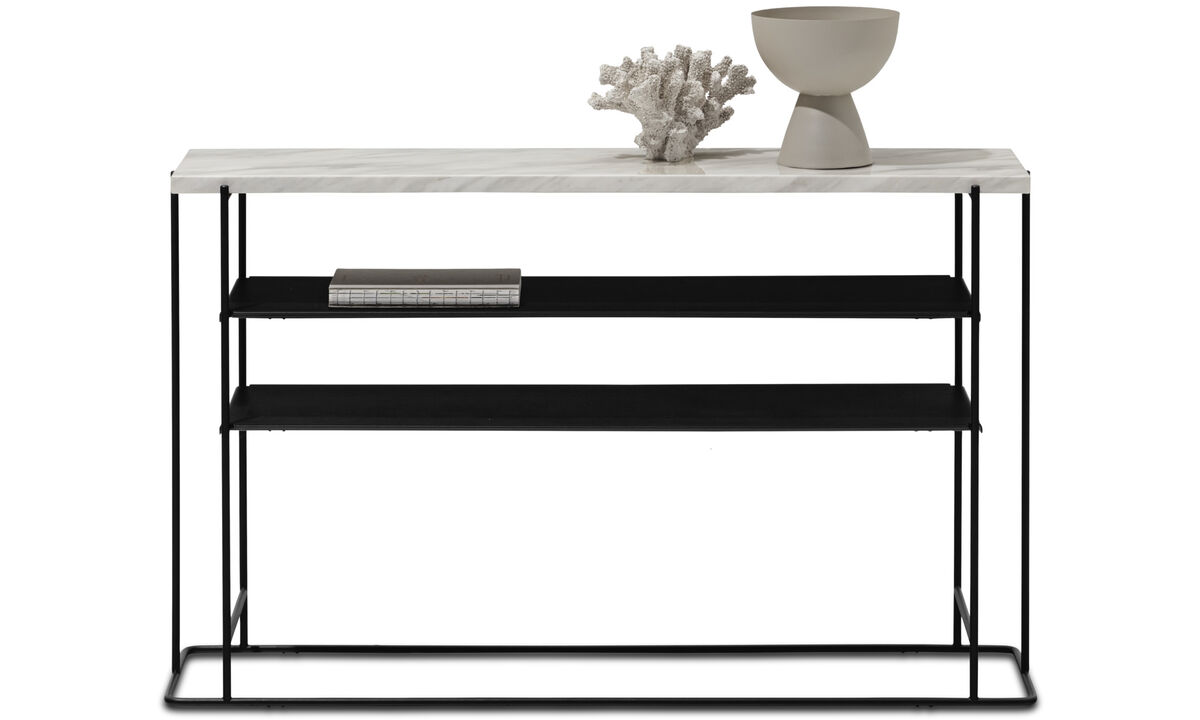 Hallway furniture - Paris console table - rectangular - White