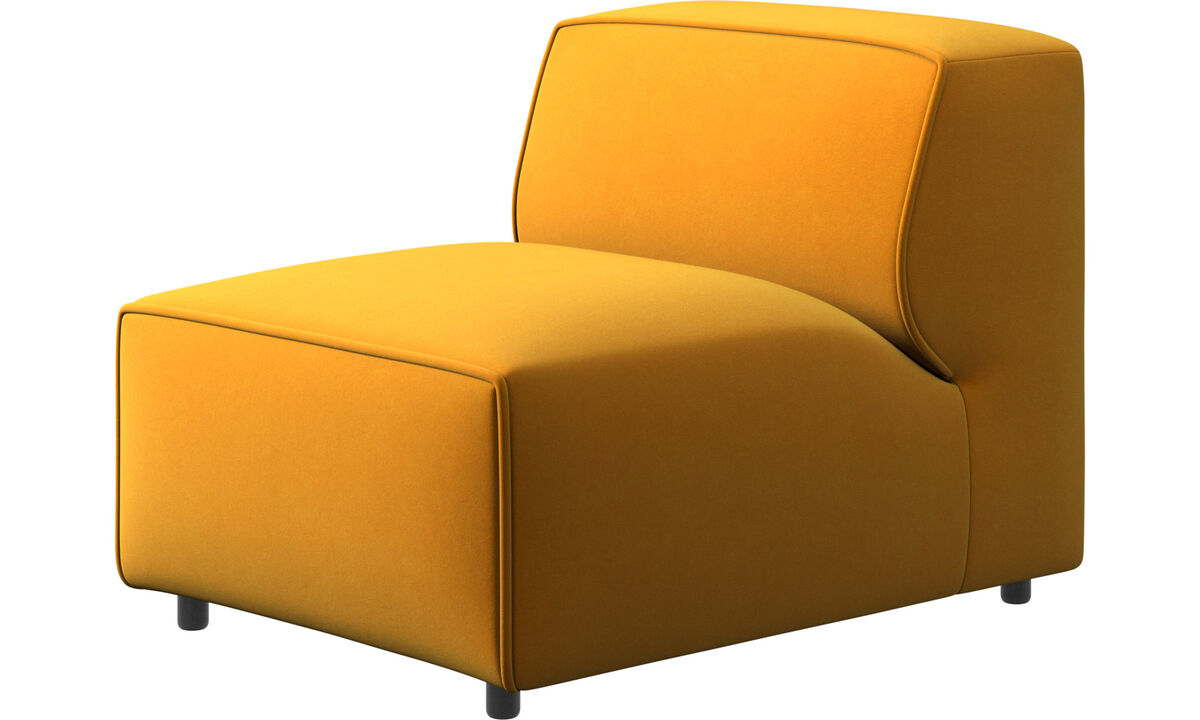 Sillones - silla/módulo básico Carmo - Naranja - Tela