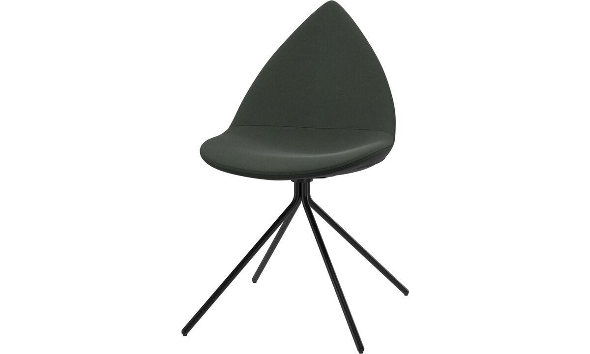 Cadeiras de jantar - cadeira Ottawa - Verde - Tecido