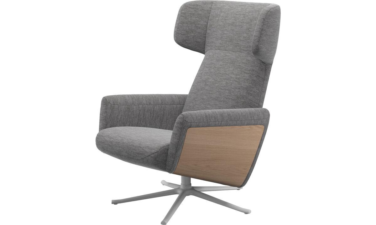eichenst hle und sessel boconcept. Black Bedroom Furniture Sets. Home Design Ideas