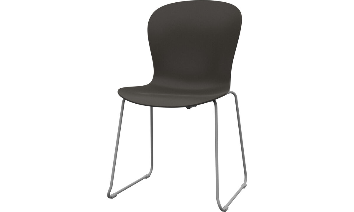 Dining chairs - Adelaide chair (for in- and outdoor use) - Green - Plastic