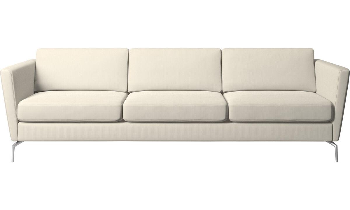 canap s modernes 3 places qualit boconcept. Black Bedroom Furniture Sets. Home Design Ideas